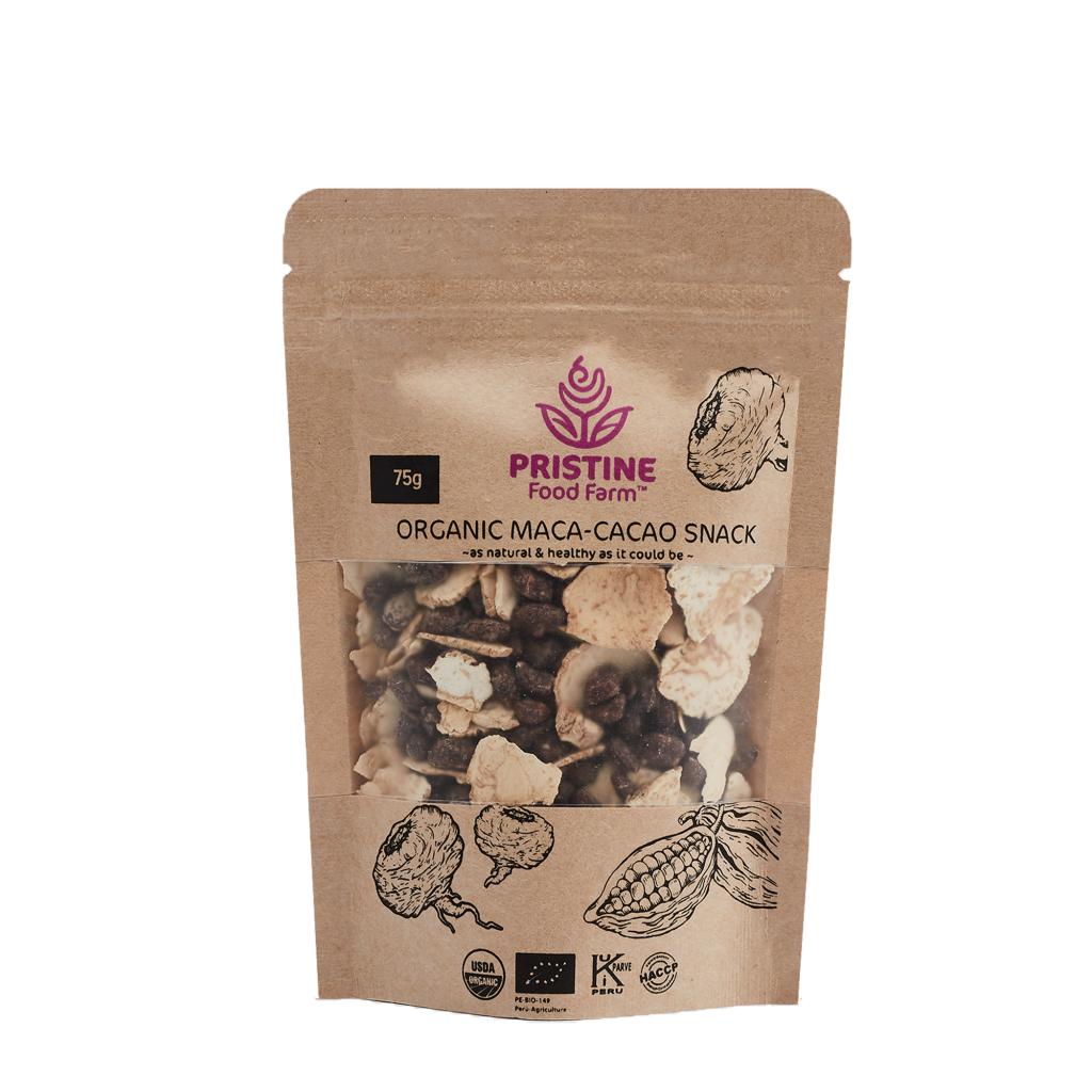 Organic Maca-Cacao Snack-