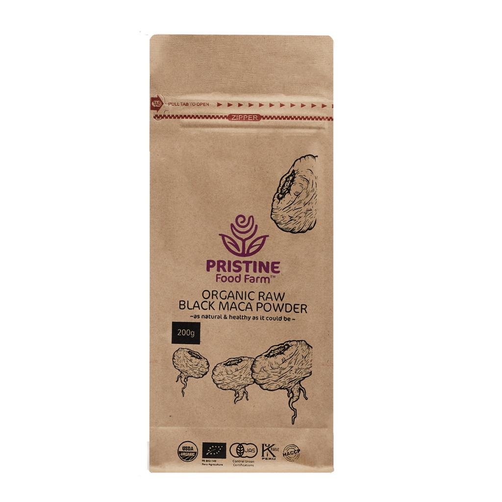 Organic Raw Black Maca powder