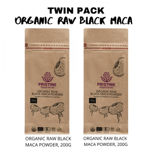 organic raw black maca