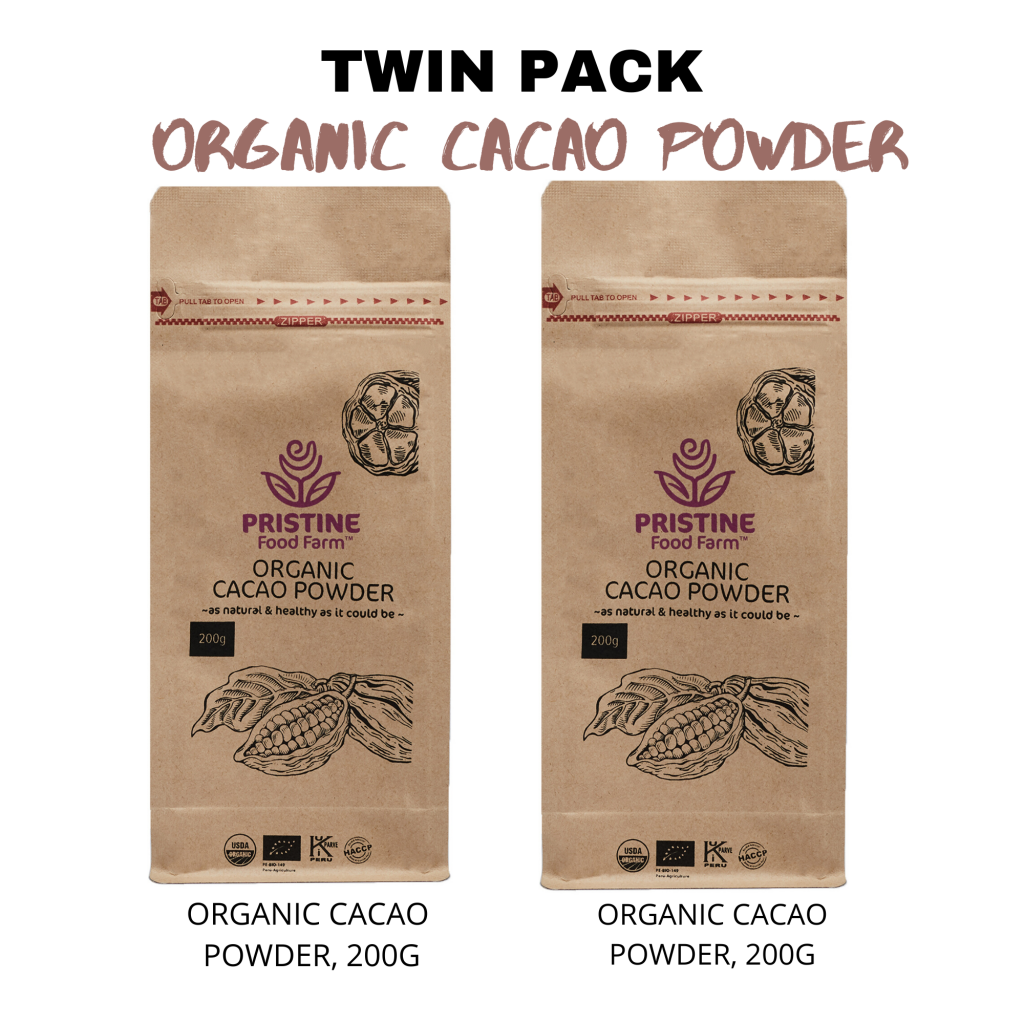 TWIN PACK-CACAO POWDER
