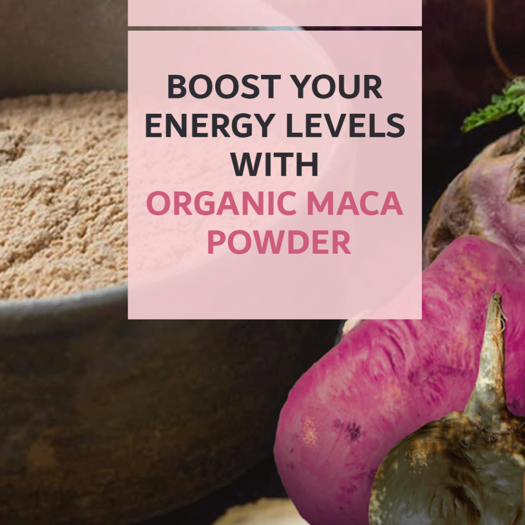 Organic Raw Maca Powder